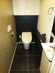 グランドメゾン中目黒 The Class ウォシュレット付のトイレ