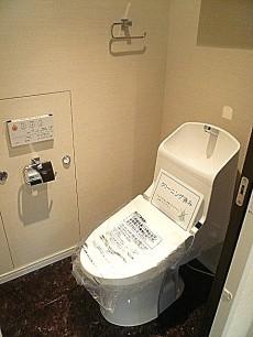 松濤パークハウス ウォシュレット付トイレ