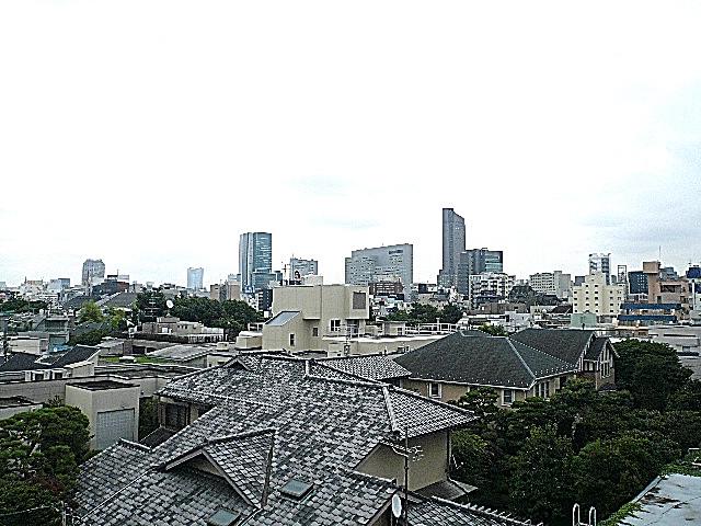 松濤パークハウス 4階からの眺望
