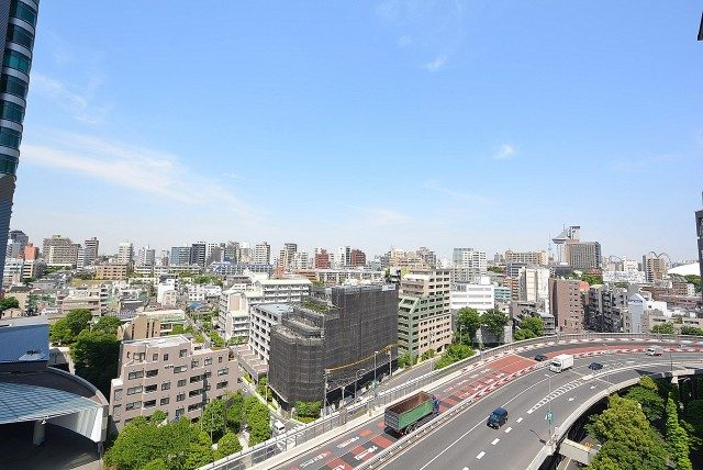 飯田橋第二パーク・ファミリア バルコニー1