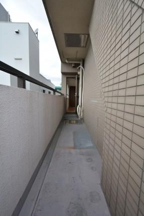 藤和シティコープ新中野 西バルコニ-