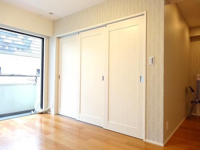 藤和青葉台コープ 約5.2帖の洋室の引き戸
