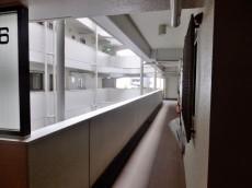 ハイラーク五反田601 外廊下
