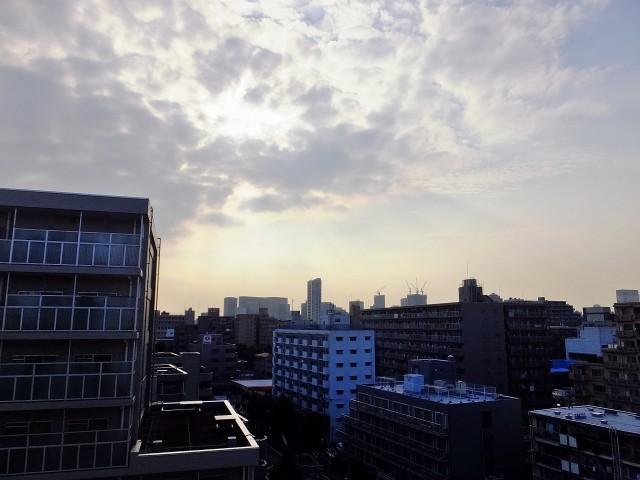 東品川ハウス バルコニー眺望