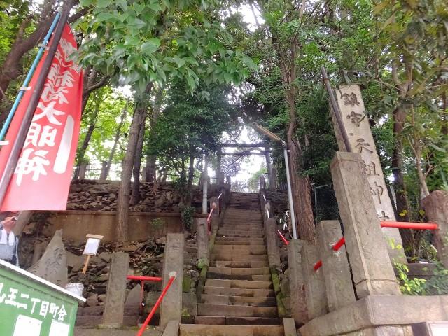 山王パレス 神社