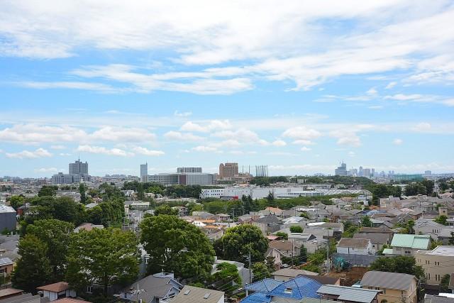 成城エコーハイツ 眺望803