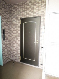 レクセルマンション音羽 玄関前廊下