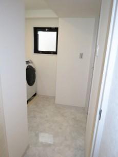 ディアライフ大塚 洗面室にはドラム式洗濯機がすでに設置されています