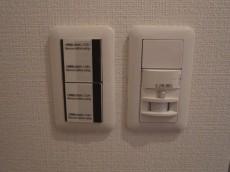藤和護国寺コープ 玄関照明は人感センサー付208