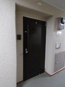 マンション第二恵比須苑 玄関扉