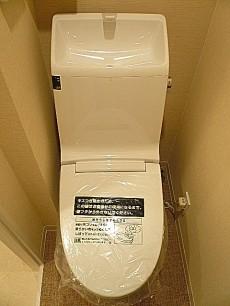 エス・コート駒沢 ウォシュレット付トイレ
