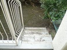 専用庭 階段