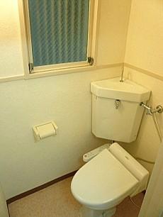 麻布十番中央マンション ウォシュレット付トイレ