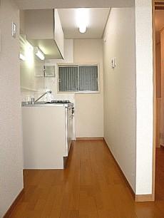 麻布十番中央マンション キッチンスペース