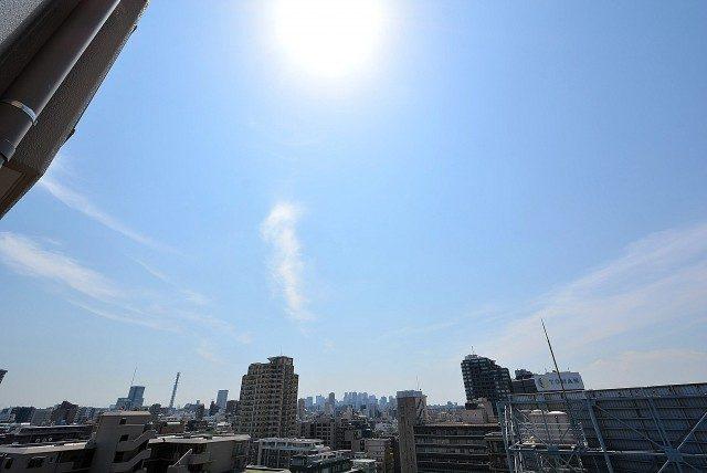 飯田橋第二パーク・ファミリア バルコニー2