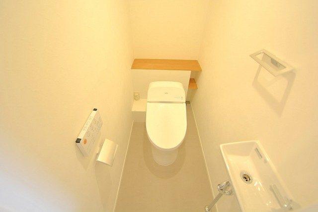 飯田橋第二パーク・ファミリア トイレ (2)