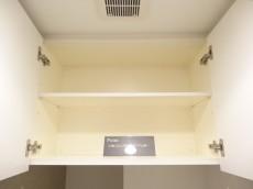 エスコートノヴェル白金高輪 トイレ吊戸棚