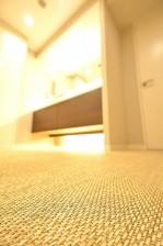 ファミール六本木 サニタリールームの床
