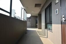 コスモ学芸大学 共用廊下