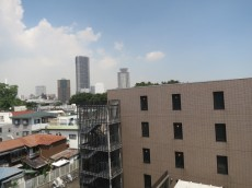 目白武蔵野マンション バルコニーからの眺望