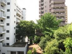 目白武蔵野マンション 西側の眺望