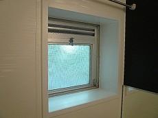 秀和目黒レジデンス 浴室の窓