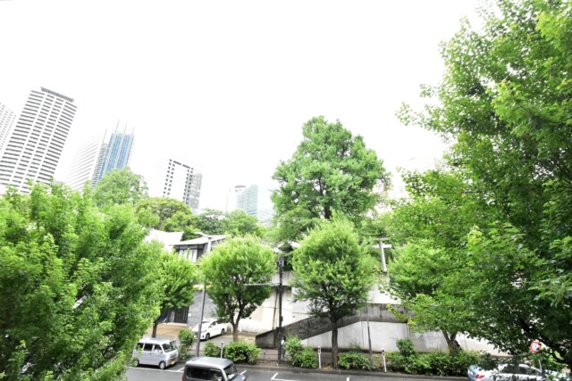 新宿パークサイド永谷 バルコニー