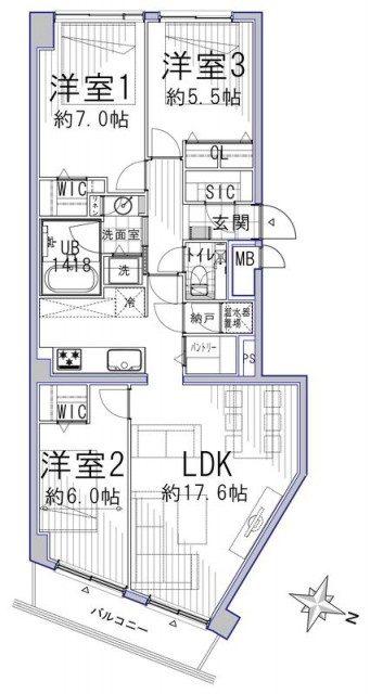 経堂スカイマンション