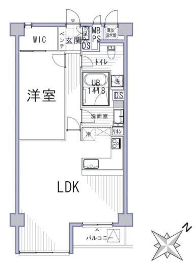 ハイツ赤坂 間取図