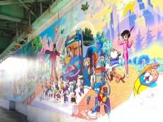 クリオ高田馬場壱番館 アトム壁画