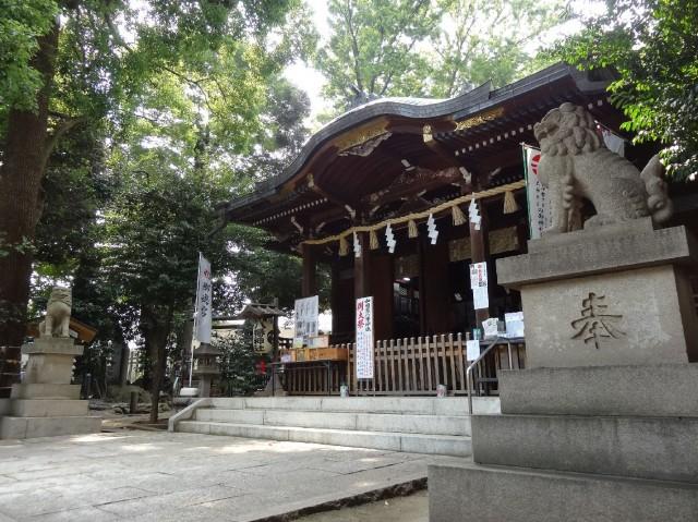 松風園コーポ 八幡神社