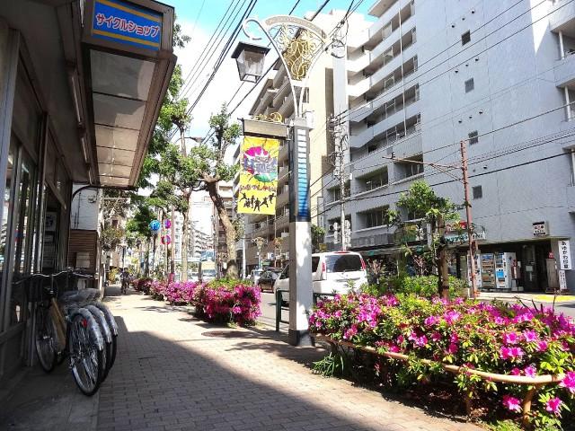 三軒茶屋サンハイツ 商店街