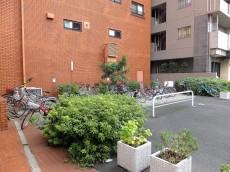 サニークレスト三田 駐輪場