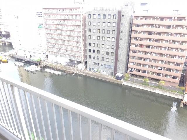 シティ田町 バルコニー眺望