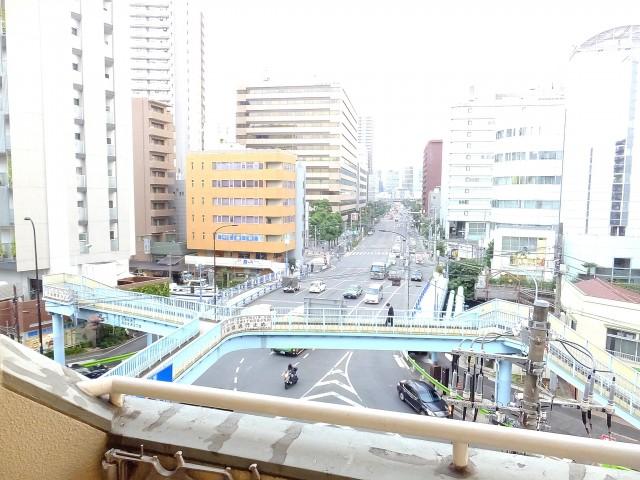 田町グリーンハイツ バルコニー眺望