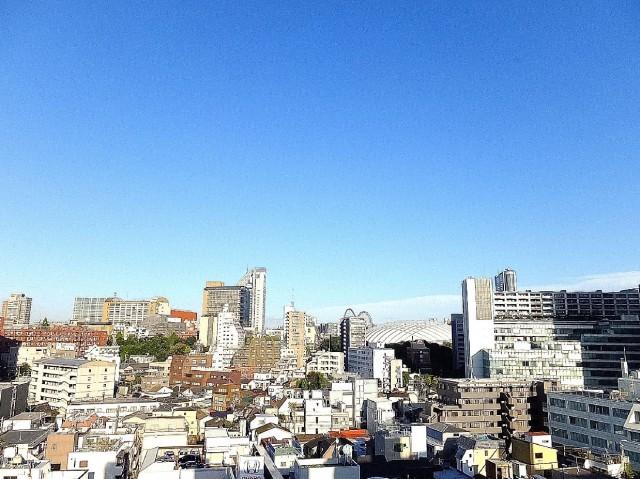 ニックハイム飯田橋 5.5帖のベッドルームの眺望