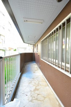 第3桜新町ヒミコマンション 共用廊下