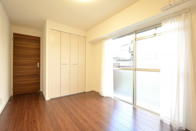 第3桜新町ヒミコマンション 6.3帖のベッドルーム