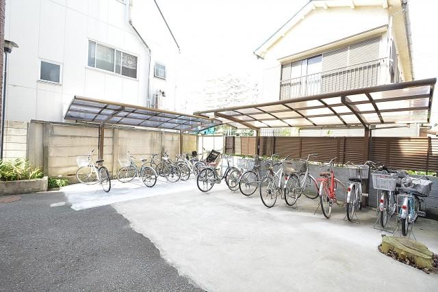 第3桜新町ヒミコマンション 駐輪場