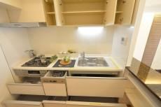 ハイツ赤坂 キッチン収納 402