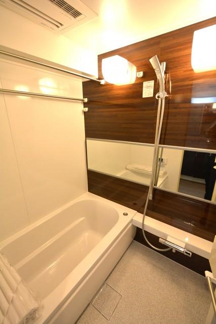 月島リバーハウス 浴室