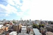 三軒茶屋シティハウス リビングバルコニー眺望