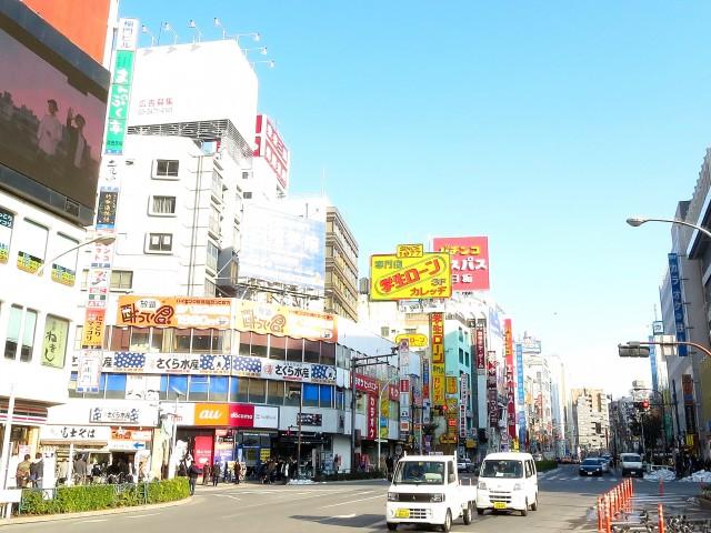 クリオ高田馬場壱番館 早稲田通り
