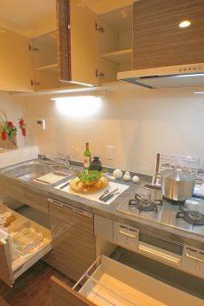 月島リバーハウス キッチン