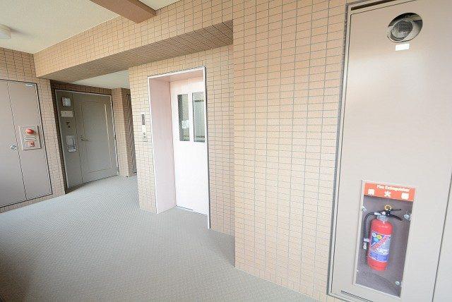 高田馬場パークハウス弐番館 (2)外廊下