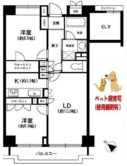高田馬場パークハウス弐番館