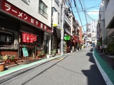 渋谷藤和コープ 前面道路