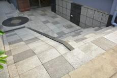 セザール第2目黒三田 スロープと階段