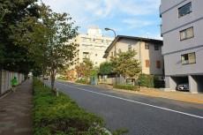 セザール第2目黒三田 前面道路