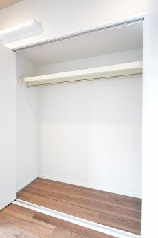 ダイアパレス麻布十番 5.0帖のベッドルームのクローゼット